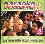 Music : KARAOKE 100 CANCIONES VOL 3 (6CDS)