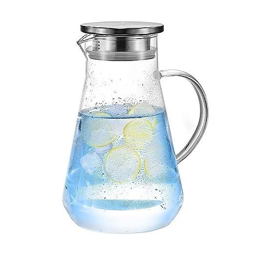 Botella de jarra de vidrio 1600 ml, botella de vidrio ...