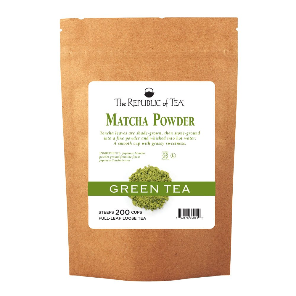 The Republic Of Tea Matcha Tea Powder, 16 Ounce Tea Powder Bulk Bag, Gourmet Matcha Green Tea Powder by The Republic of Tea