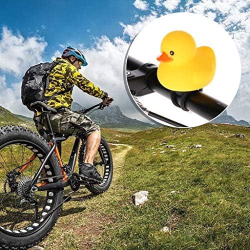 Lunji Sonnette de V/élo Lumineuses Canard Crier Sonnette de Cyclisme V/élo Bell