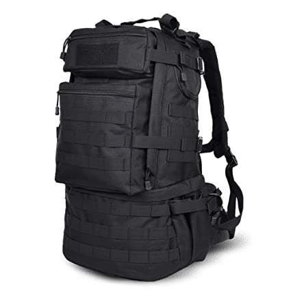 8505b97616553 Military Survival Backpack Army Large 50l MOLLE Bug Out Bag Tactical  Backpack Waterproof Trekking Hiking Bag