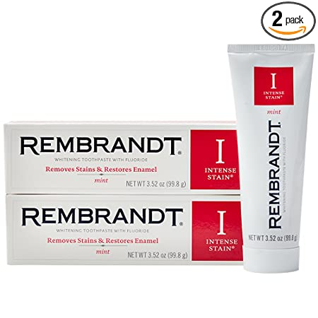 Review Rembrandt Intense Stain Whitening