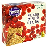 Nature's Choice Raspberry Multigrain Cereal Bars, 6-Count Boxes (Pack of 12)