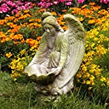 Cheap OrlandiStatuary Fegana Angel Statue, 18″, White Moss