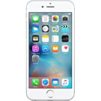 Apple iPhone 6S 64 GB UK SIM-Free Smartphone - Silver (Renewed)