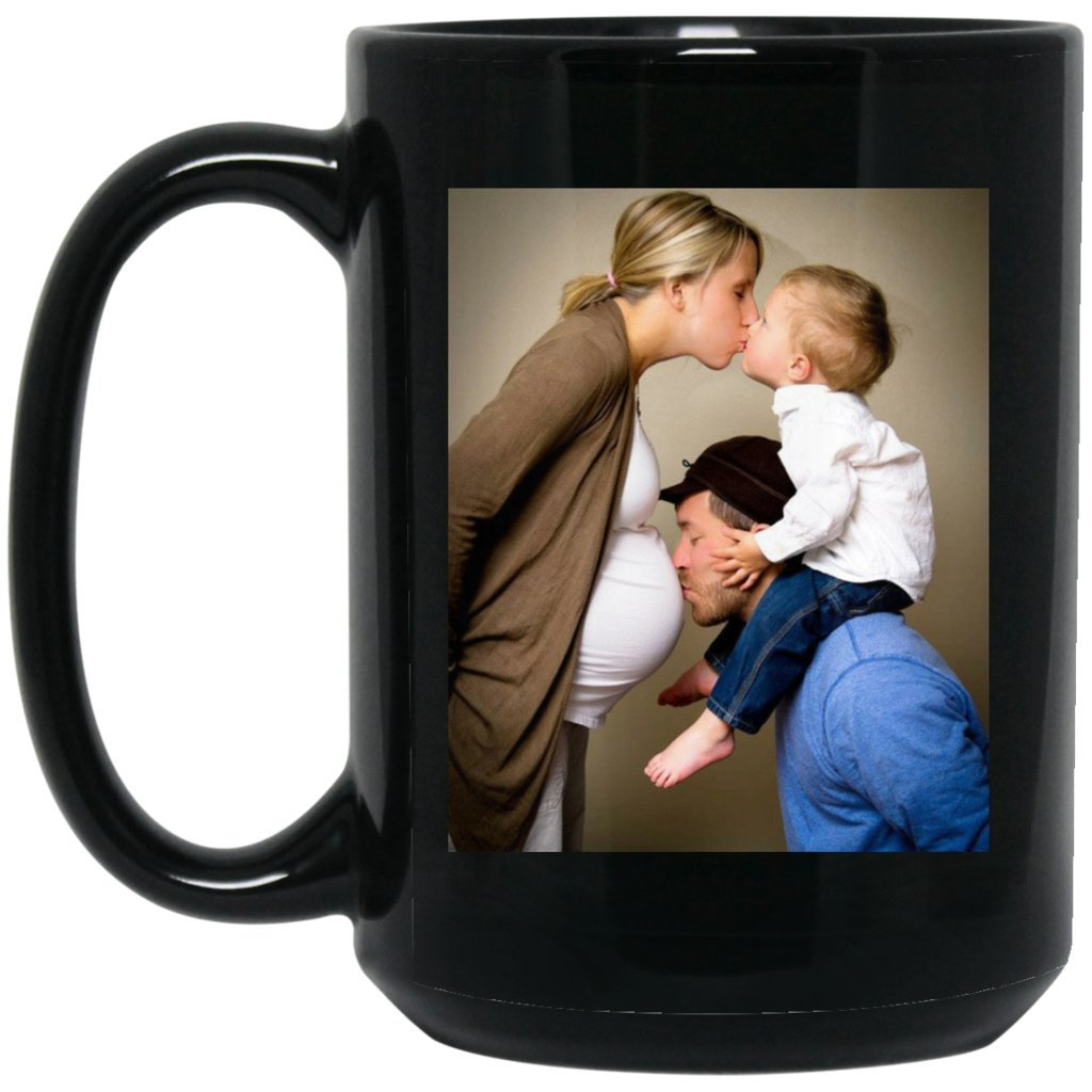Personalized Coffee Mug for Father Day - Add Your Photo/Logo to Customized Travel, Beer Mug - Great Quality for Gift (Black, 15 oz) by BestEquips (Image #6)