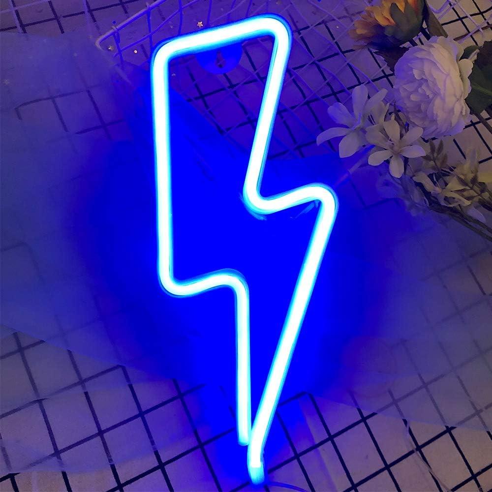 Ohne Basis Neon Signs Star Leuchtschilder dekorative Leuchten Neon Lights Festival Dekoration USB//batteriebetriebenes Neon-Nachtlicht f/ür Partei