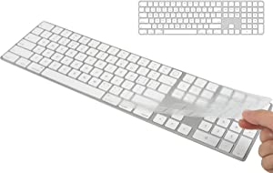 CaseBuy Keyboard Cover Compatible with 2021 Newest Apple iMac 24