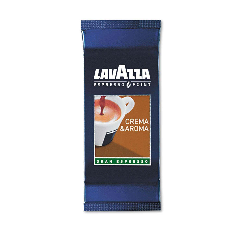 Lavazza Crema & Aroma Espresso Point Machine Cartridges, Two per Pack, 50 Packs/Box (0460)