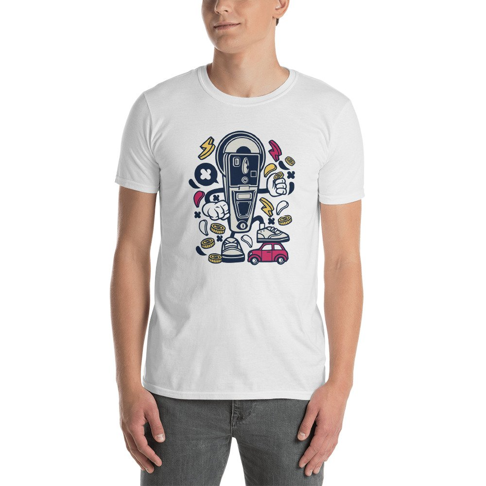 Short-Sleeve Unisex T-Shirt DR-MASTERMIND Parking-Meter