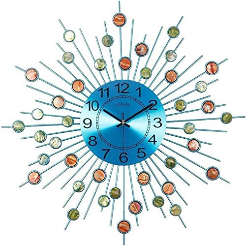YJ Home Sunburst Wall Clock