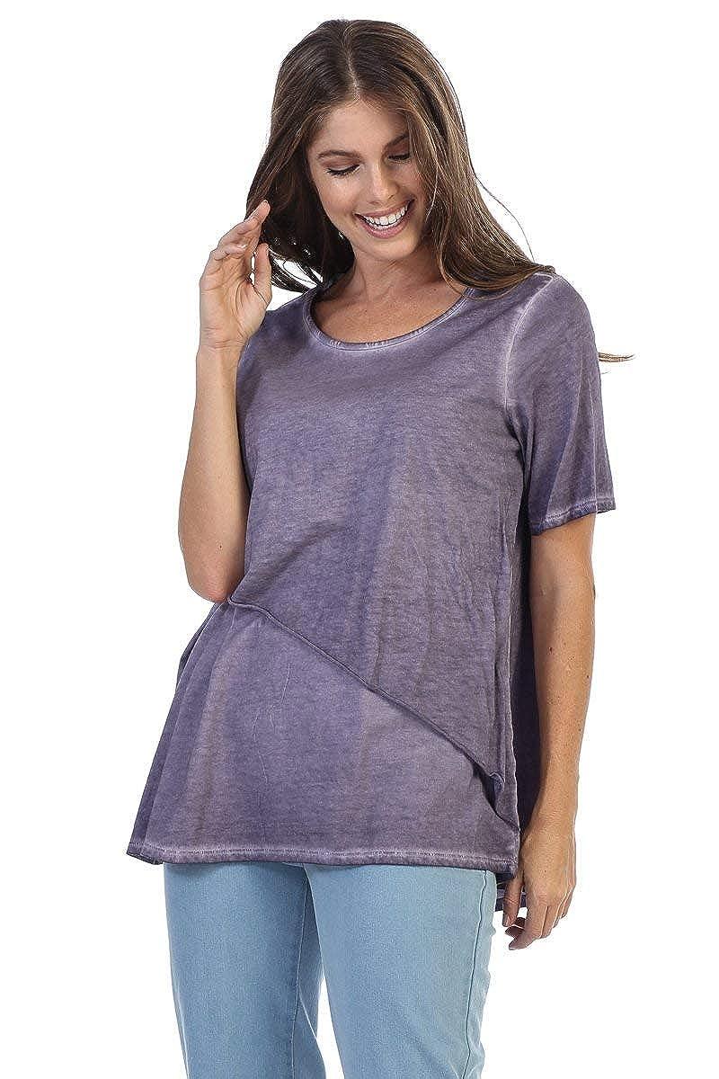 Fashion Focus Supima Cotton Short Sleeve Tunic Top