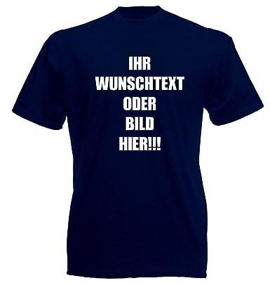 d383dbd202dfb6 T-Shirt mit Wunschtext und Bild - T-Shirt mit Text
