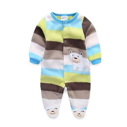 a96e38ac3a4 Amazon.com  KVbaby Baby Kids Boy Girl Infant Winter Autumn Jumpsuits ...