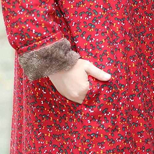 Rouge Y56 Femme Manteau Y56 Noir Manteau xZvwqzPqT