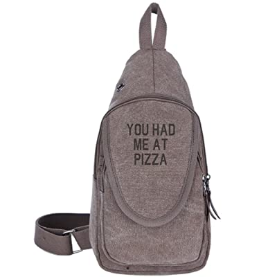 929fb3c2ee31 YOU HAD ME AT PIZZA Fashion Men's Bosom Bag Cross Body New Style Men ...