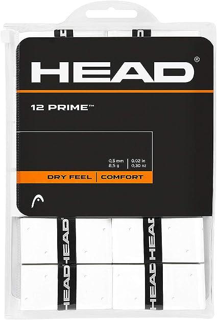 Head 12 Prime Accesorio de Tenis, Adultos Unisex, Blanco, Talla ...