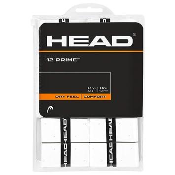 Head Over Grip Prime de 12 Unidades, Color Blanco, One Size ...