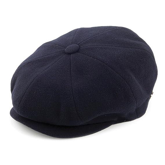 13c78c07e4b6b Bailey Hats Galvin Newsboy Cap - Navy  Amazon.co.uk  Clothing