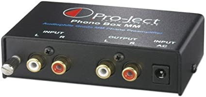 Pro-Ject Phono Box MM - Preamplificador para equipo de audio (RCA ...