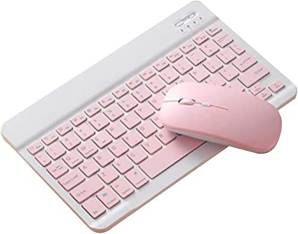 ZHEBEI Teclado ratón portátil Tablet PC Bluetooth teclado y ...