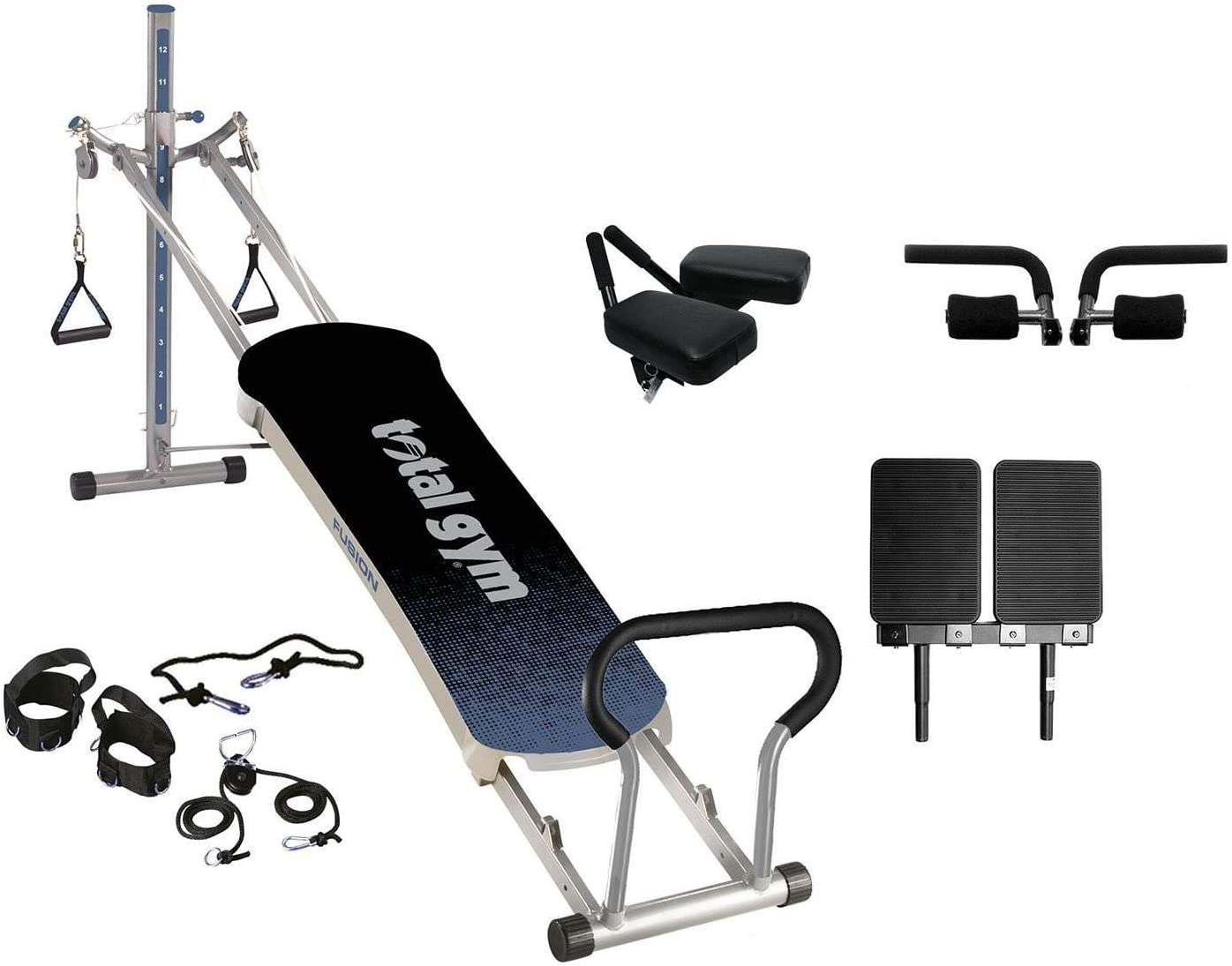 Total Gym Fitness Fusion Full Body Workout Home Fitness Exercise Machine