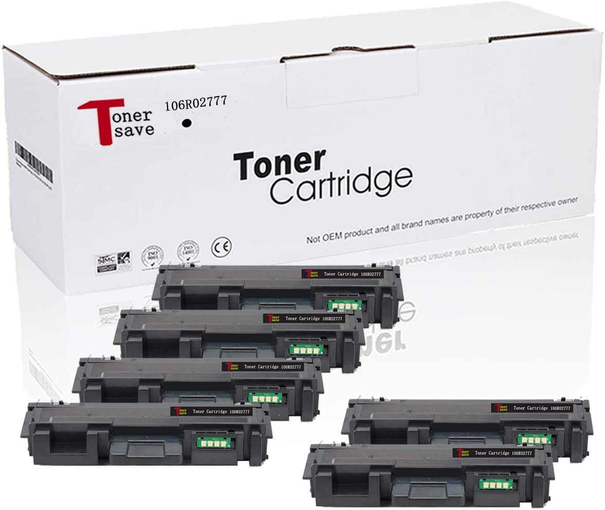 TonerSave for Xerox 106r02777 Toner 3215 3260 for Xerox Phaser 3260 Toner Xerox WorkCentre 3215 Toner Xerox 3260DNI Toner Workcenter 3225 Toner Xerox Workcentre 3052 Toner 4PK