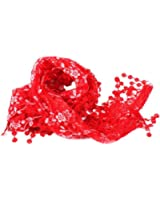 12 Colors Women Lace Hollow Tassel Scarves Wrap Shawl triangle Stole Soft Scarf