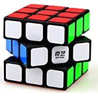 D ETERNAL 3x3x3 high Speed stickerless Rubix Cube (Multicolour)