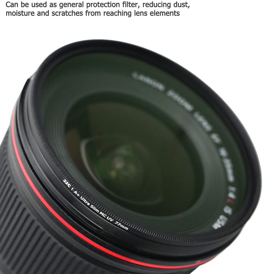 86mm for Sony Alpha DSLR-A550L Haze UV 1A Multicoated Multithreaded Glass Filter