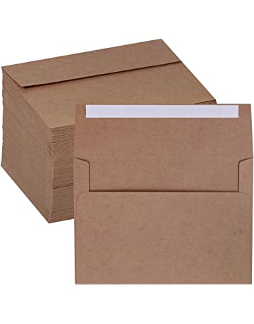 "American Crafts Boxed Card Envelope Set 4.375/""x5.75/"" Stationery Pack Rose Gold"