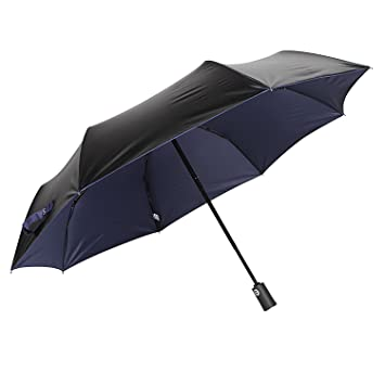 molshine Automatic Windproof Travel Umbrella-Compact Folding Lightweight Portable Parasol Umbrella for Women,Gift