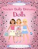 Sticker Dolly Dressing Dolls, Fiona Watt, 0794513891
