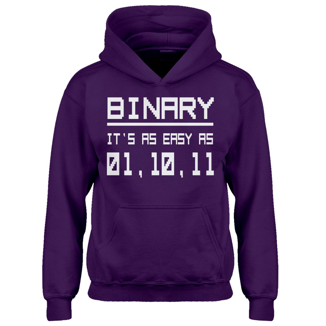 Indica Plateau Youth Binary Kids Hoodie