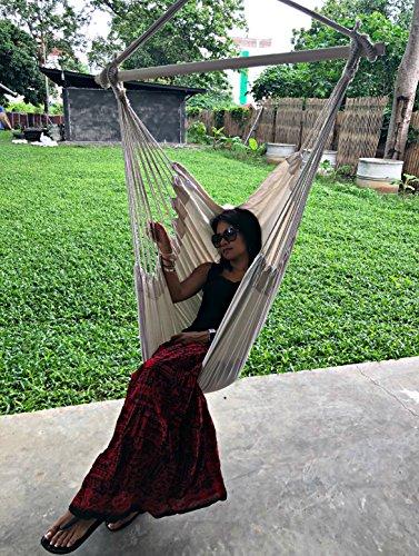 Hammock Sky Large Brazilian Hammock Chair, Natural