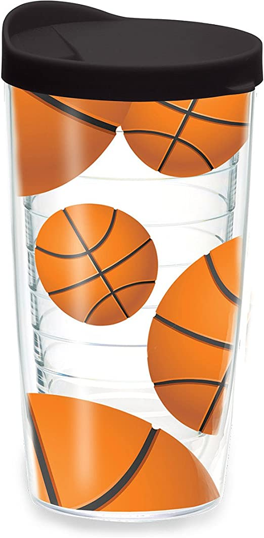 Directosreferencias vaso de balones de baloncesto de 16 oz vasos ...