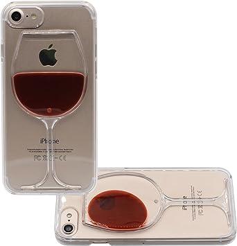 coque iphone 7 verre de vin