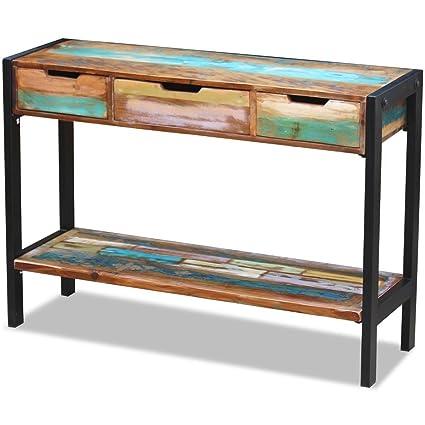 Amazon.com: Mesa de consola Industrial Vintage hecho a mano ...