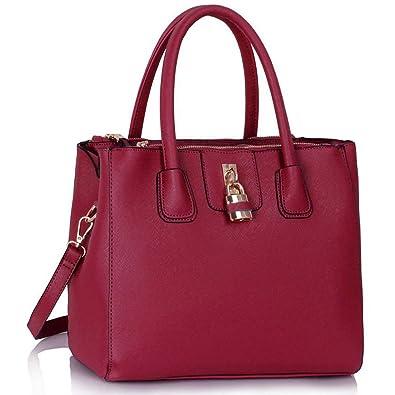 Tote Shoulder Handbags Ladies Faux Leather Handbags Large Womens ...