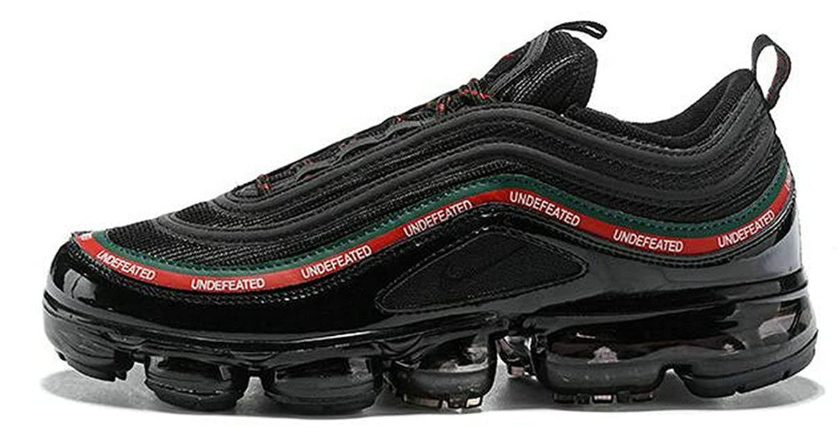 half off fa22f 604bf Undefeated X Air Vapormax 97 Black Red Mens Womens Running ...
