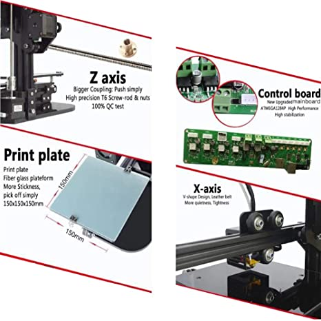 Impresora 3d Económica Desktop Education Grade Impresora 3d Tamaño ...