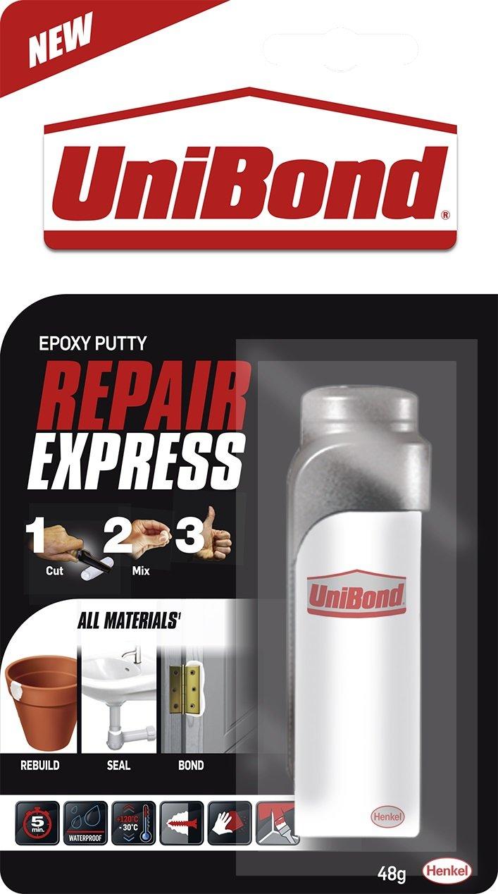 Unibond 2002377 Tubo de cortador de masilla epoxi, 48 g, color blanco Henkel Ltd