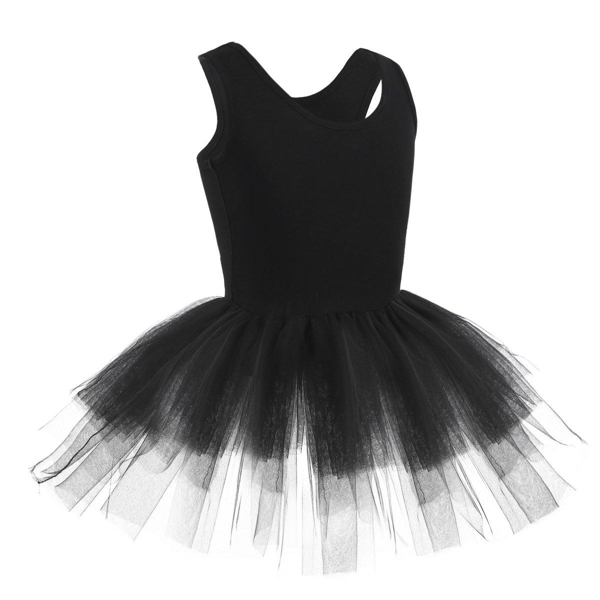e537be626ed7 CHICTRY Girls  Organic Cotton Tank Tutu Dance Ballet Gymnastics ...