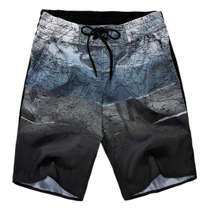 Highdas Bañador para Hombre Traje De Baño Casual Beach Shorts Pantalon Corto para Hombre EU S-EU 5XL: Amazon.es: Ropa y accesorios