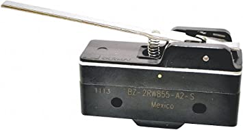 Hinge Straight Lever Micro Switch Snap Action 15A 240V