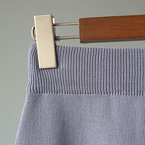 A uniqueTaille Tricot Jupe Mi Poitrine 65cm Nouveau Casual Kaki Jupe Taille Hiver Automne Style Morbuy Haute Elastique Ligne Longue et Femme lgante BqdvqC7A
