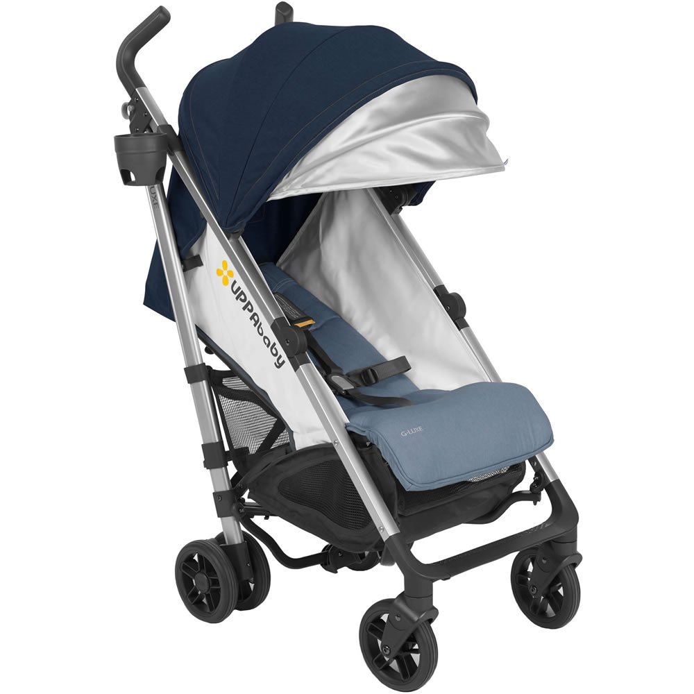 2018 UPPAbaby G-Luxe Stroller -Aidan (Denim/Silver) 6155ksclClL