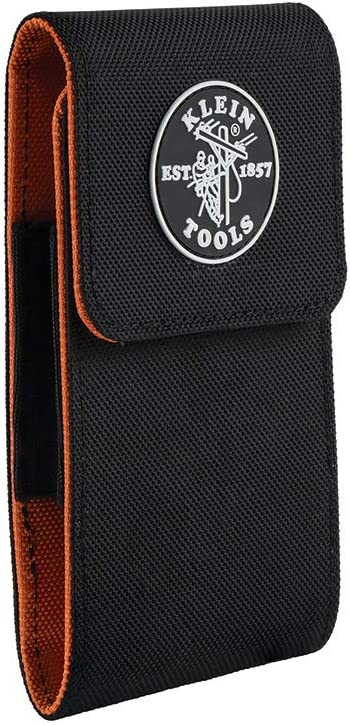 Klein Tools 55474 Phone Case, XXL Cell Phone Case for iPhone 6 Plus, 7 Plus, 8 Plus, Samsung Galaxy S7, S8, S8 Plus, S9, S9 Plus, Note Edge, etc