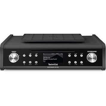 TechniSat Digitradio 20 CD (Modernes und kompaktes DAB+ Küchen- und ...