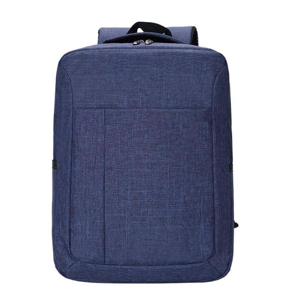 Dark bluee DYR Laptop Bag Men and Women Shoulder Bag Student Bag Outdoor Travel Bag Casual Shoulder Messenger Bag Handbag